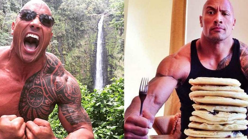 La dieta de The Rock: 370 kilos de bacalao al año y 5.390 calorías al día