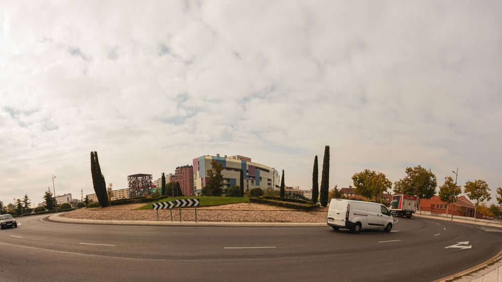 La rotonda mostoleña de las 3 Españas: el lugar donde se decidirán las elecciones