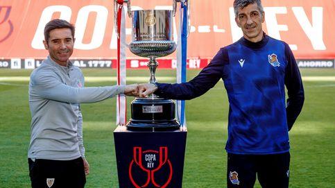 Final de Copa vasca en Sevilla, sin público y con Franco: así se la ponen a Felipe VI...