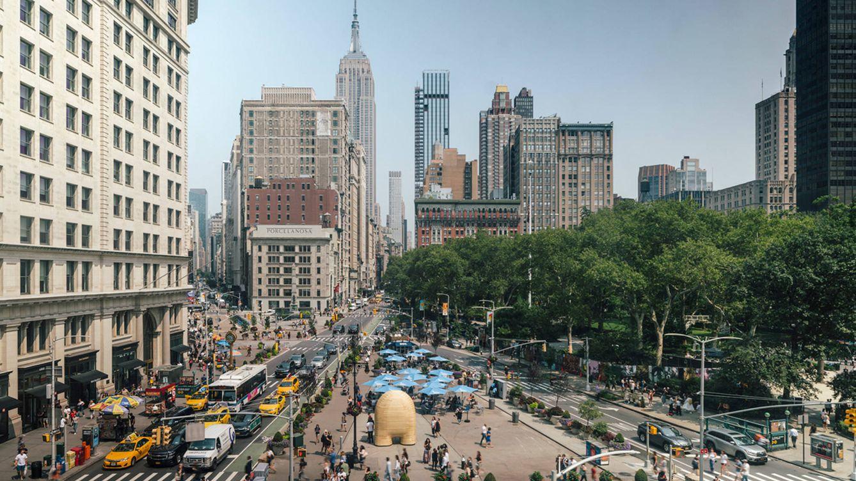 El escultor Jorge Palacios redecora Nueva York