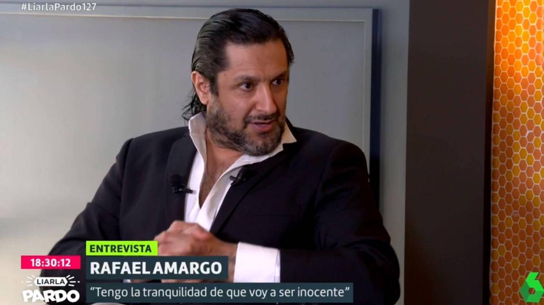 Rafael Amargo habla con Cristina Pardo de los exministros que habrían estado en su casa