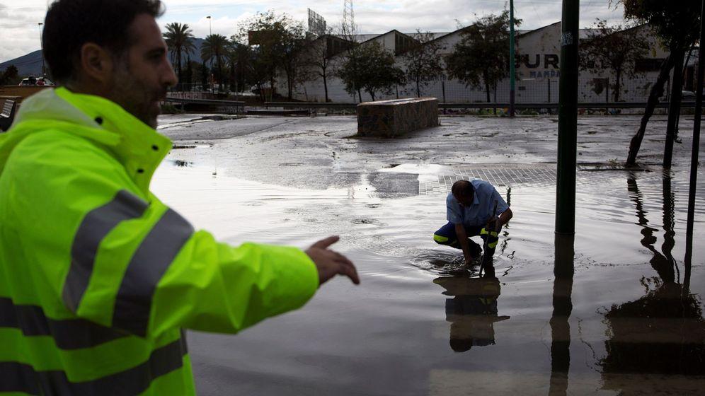 Foto: Inundaciones en Málaga. (EFE)
