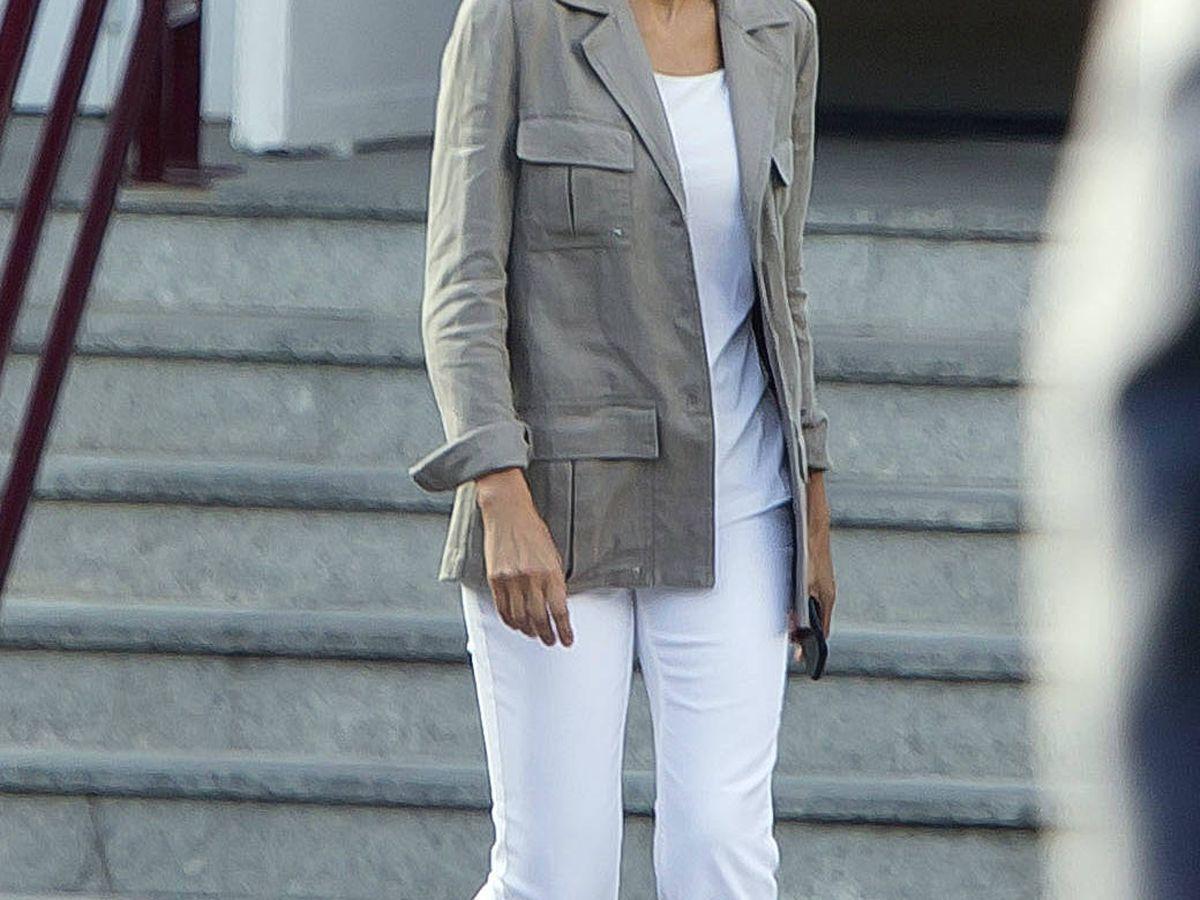 Foto: La reina Letizia, con poco maquillaje. (Getty)