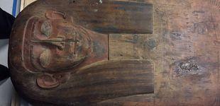 Post de Descubren una momia en un sarcófago que se creía lleno de escombros