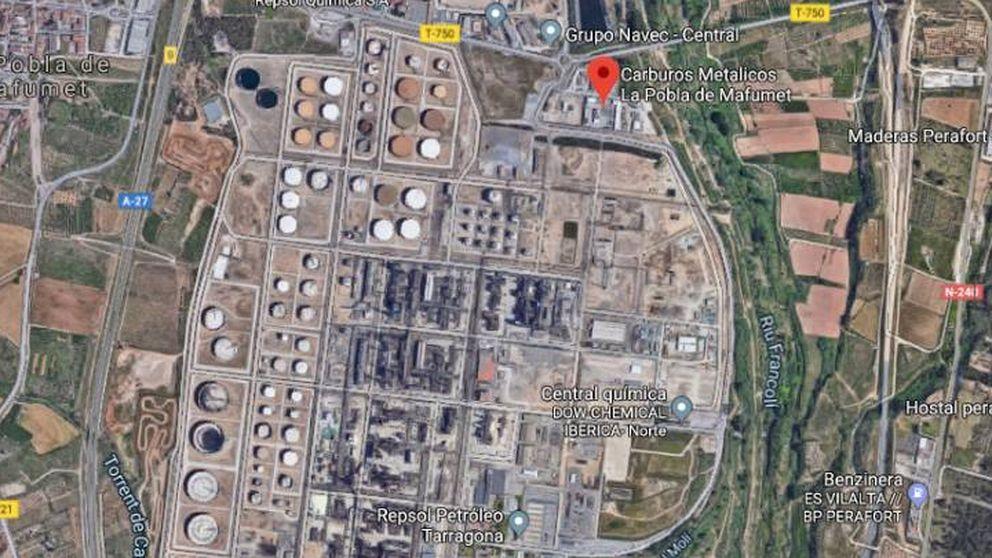 Un trabajador muerto y otro crítico por una fuga de amoniaco en Tarragona