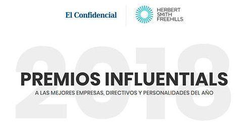 Premios Influentials 2018 a las mejores empresas, directivos y personalidades
