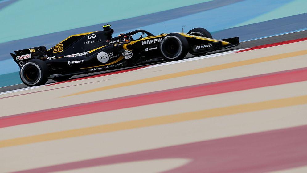 Foto: Carlos Sainz este viernes en el circuito de Sakhir. (Reuters)