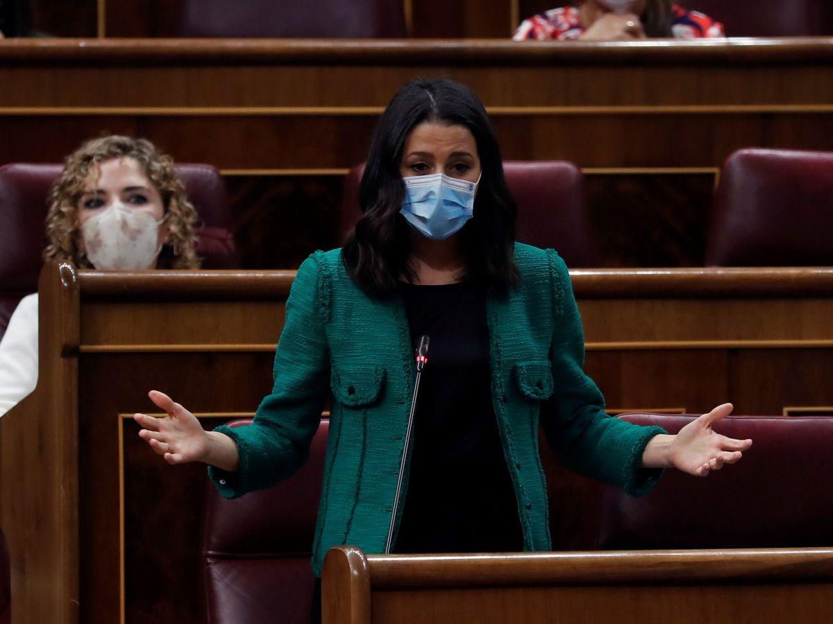 Foto: La líder de Ciudadanos, Inés Arrimadas. (EFE)