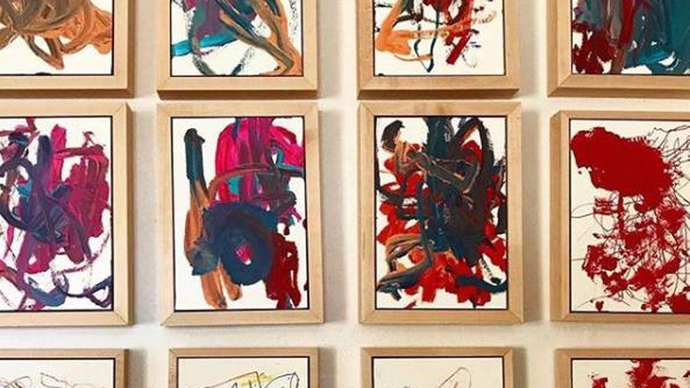 La niña de dos años que es la nueva Picasso y está teniendo gran éxito