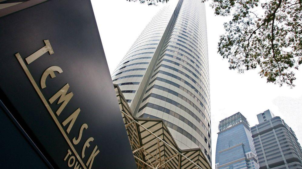 Foto: Foto de archivo de una torre de Temasek, dueño de Pavilion Energy, en Singapur. (EFE)