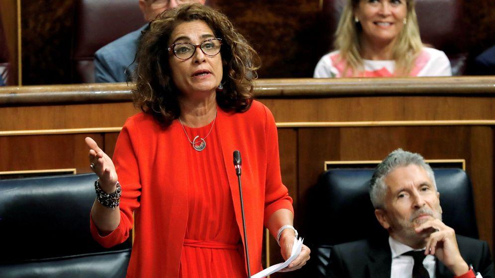 Foto: La ministra de Hacienda en funciones María Jesús Montero. (EFE)