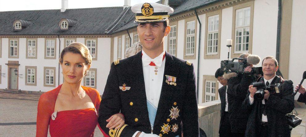 Foto: Los príncipes de Asturias en la boda de los herederos al trono de Dinamarca (Gtres)