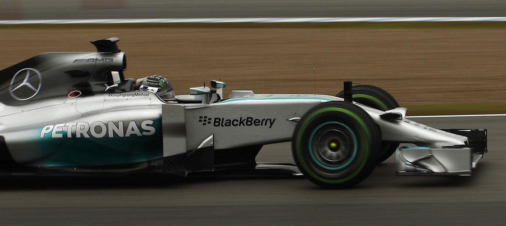 Foto: Nico Rosberg a los mandos del Mercedes W05.