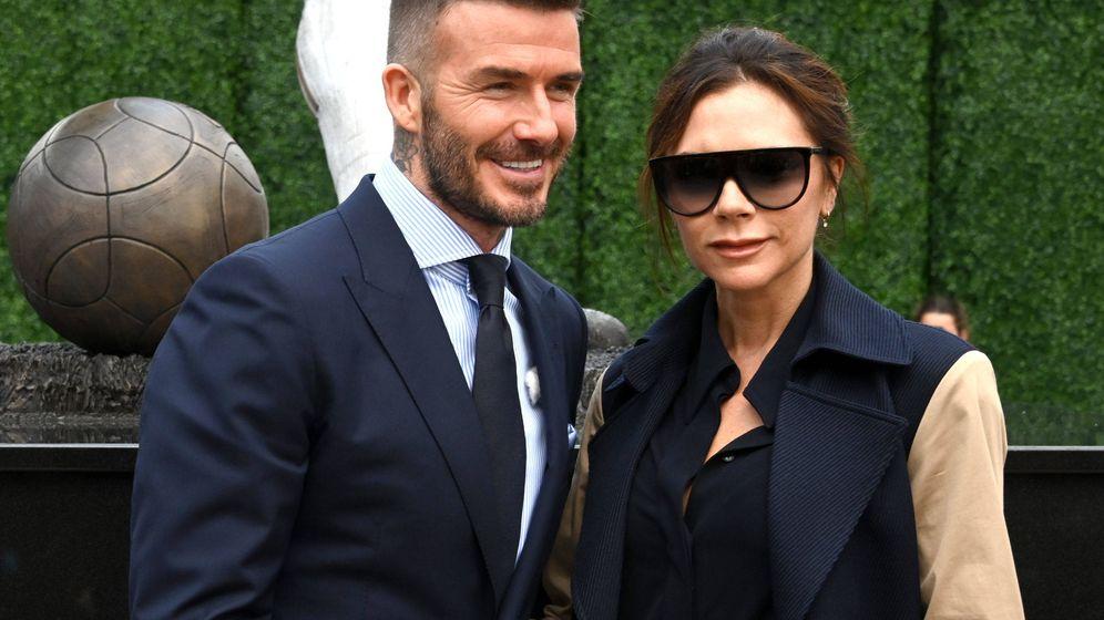 Foto: Los Beckham, en una imagen de archivo. (Getty)