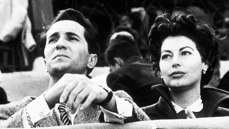 Ava Gardner y Luis Miguel Dominguín en una imagen de archivo. (EFE)