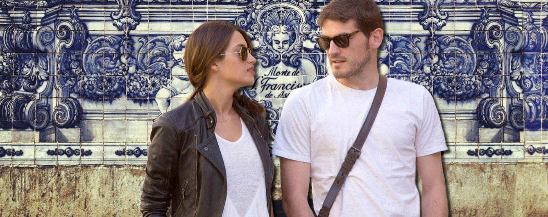 Foto:  Iker Casillas y Sara Carbonero en un montaje realizado por 'Vanitatis'
