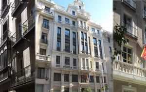 Tres edificios en venta en pleno centro de Madrid por 40 millones