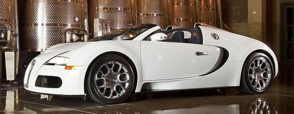 Foto: Bugatti Veyron Grand Sport, un roadster de colección