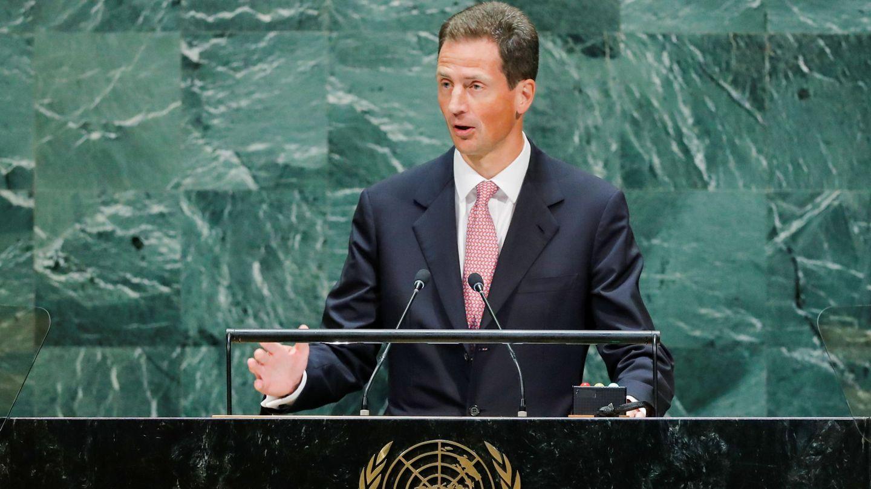 Alois de Liechtenstein, en la ONU. (Reuters)