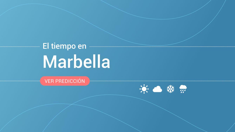 Previsión meteorológica en Marbella: alerta amarilla por fenómenos costeros
