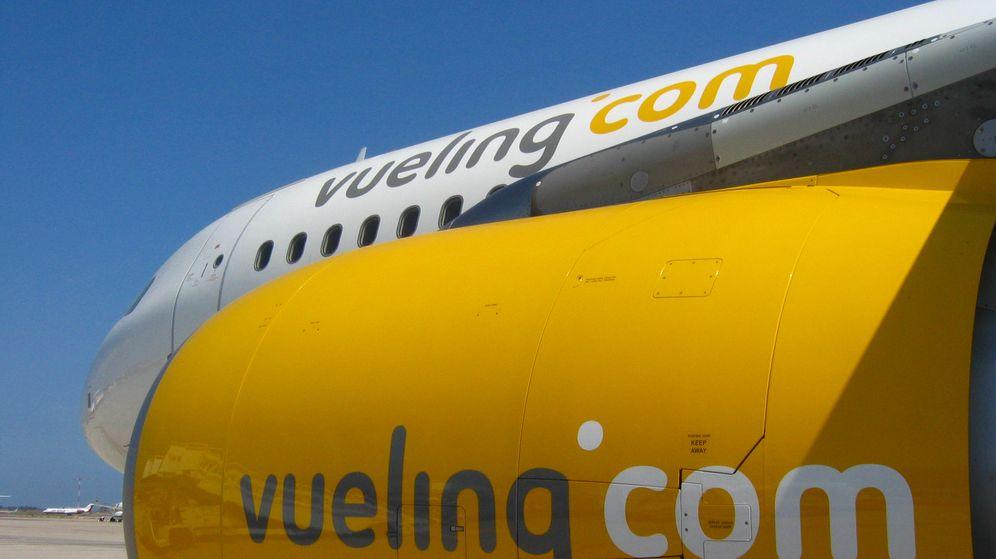 Foto: Imagen de uno de los aviones de Vueling. (XTB)