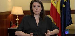 Post de El mensaje 'oculto' (atentos en Zarzuela) en la última aparición de Irene Montero