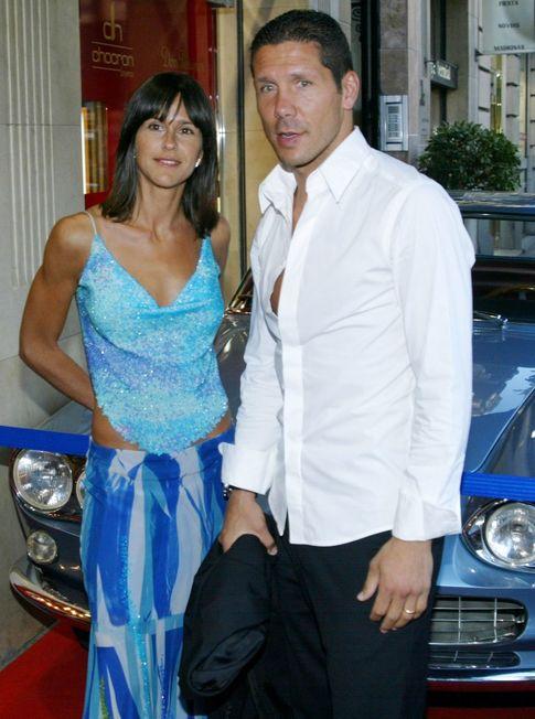Simeone y Baldini en 2004 (Gtres)