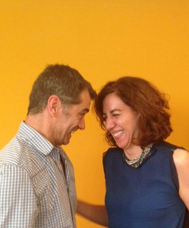 Foto: Toni Cantó e Irene Lozano, juntos en Renovadores UPyD (Twitter de Irene Lozano)
