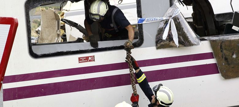 Foto: Descarrilamiento tren