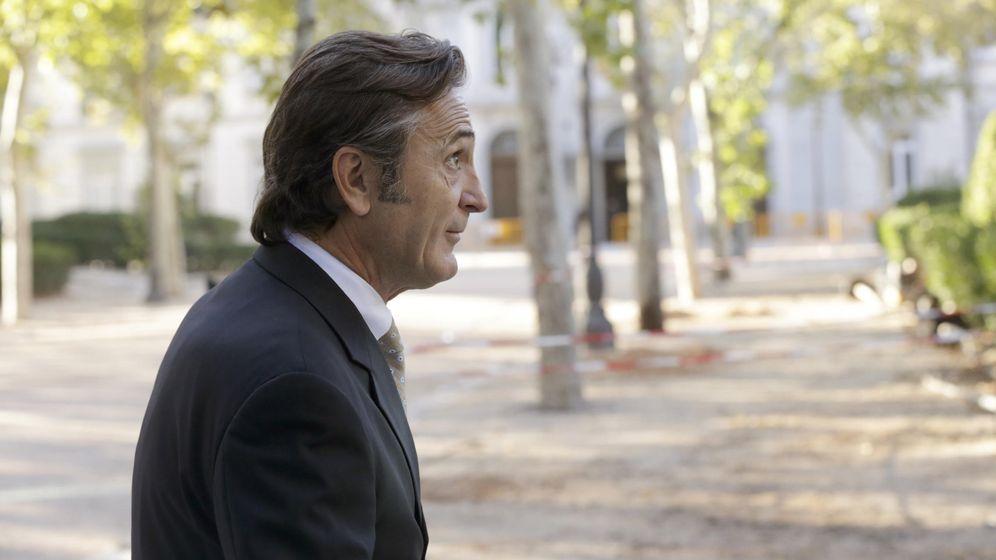 Foto: Josep Pujol Ferrusola a su llegada a la Audiencia Nacional en 2015. (EFE)