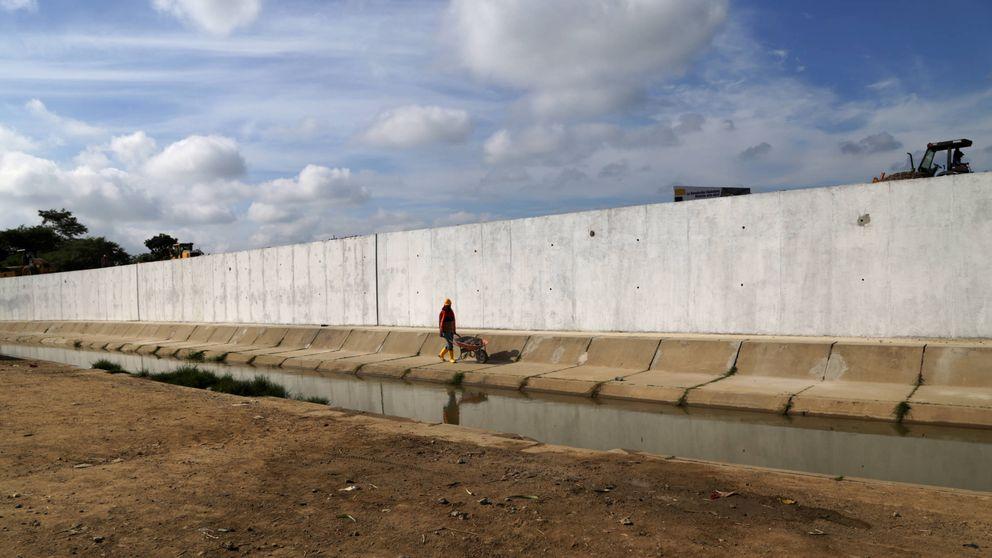 El muro que ha 'resucitado' el último conflicto armado entre Perú y Ecuador