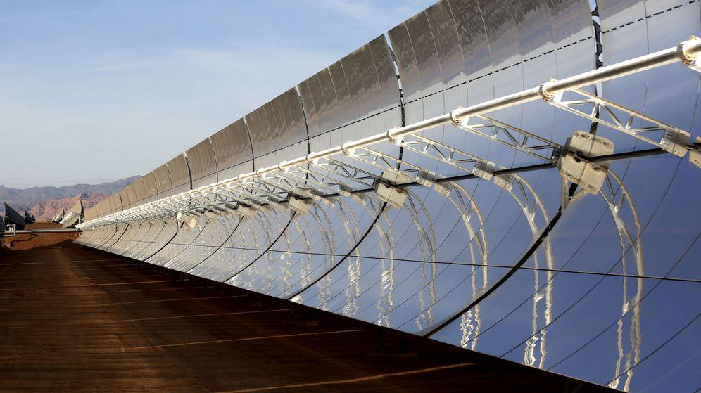 Foto: Plata solar de producción de energía renovable. (EFE)
