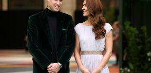Post de Kate Middleton, una diosa griega de Alexander McQueen con un vestido que tiene 10 años