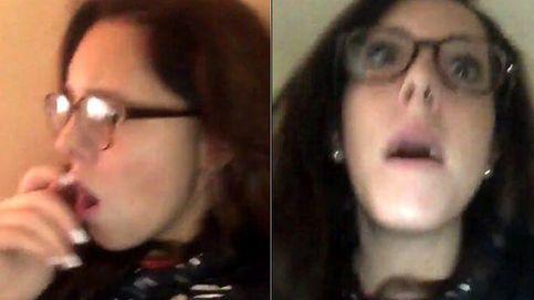Mientras graba un vídeo para Snapchat, un avión se estrella al lado de su casa