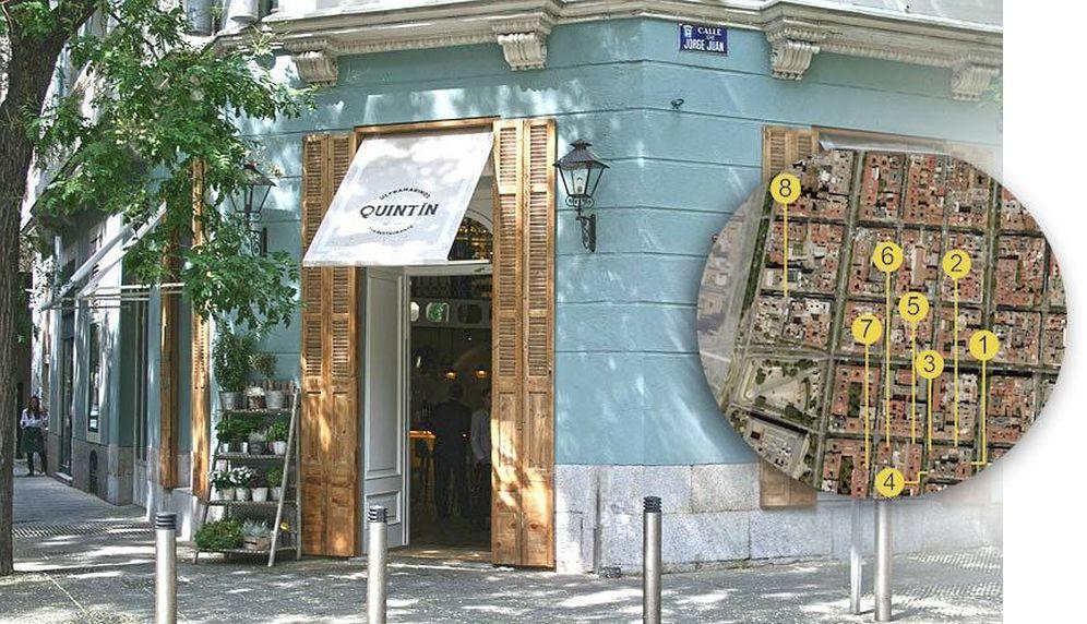 Restaurantes: Los restauradores que reinventaron el barrio más caro de Madrid