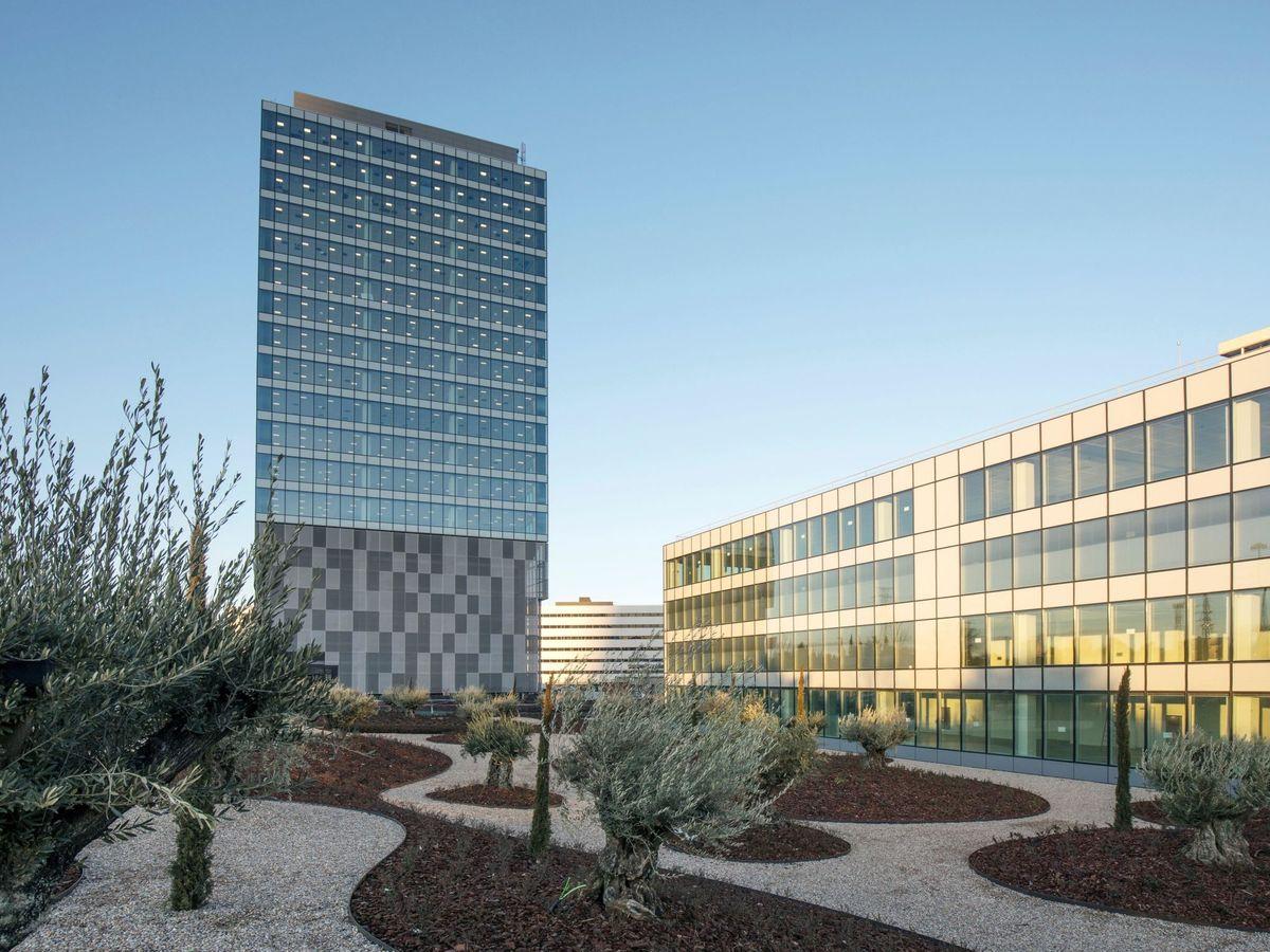 Foto: Edificio de Merlín Properties en Madrid (EFE)