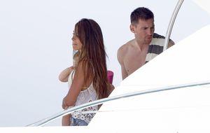 Leo Messi y Antonella Rocuzzo apuran sus vacaciones en Capri