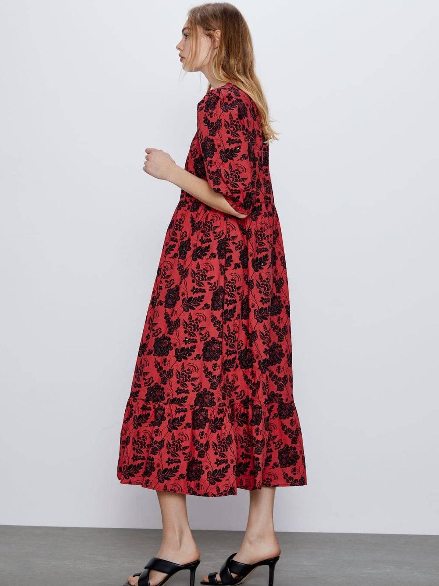 El vestido de Zara cuesta 26 euros (Cortesía)