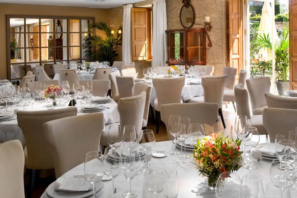 Foto: Así es el restaurante Filigrana, dentro de A Quinta da Auga, en Santiago de Compostela.