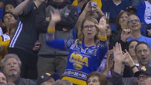 La divertida coreografía de una 'profe' jubilada en un partido de la NBA