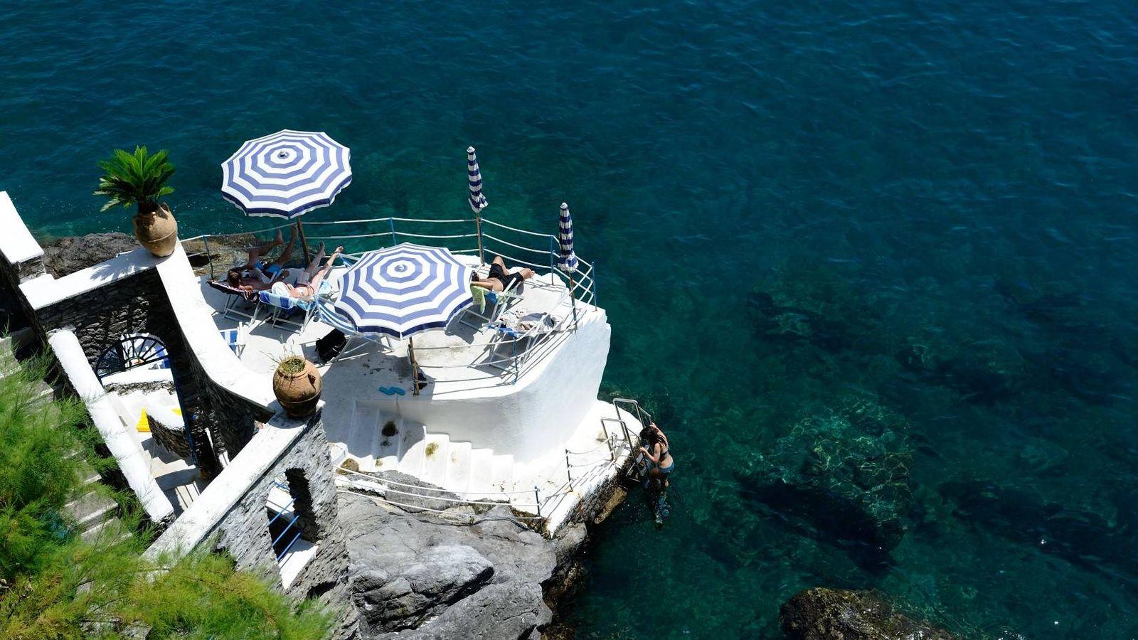 Foto: El hotel Villa San Michelle en Ravello, lujo frente al mar.