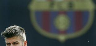 Post de El silencio de Messi, la voz de Piqué