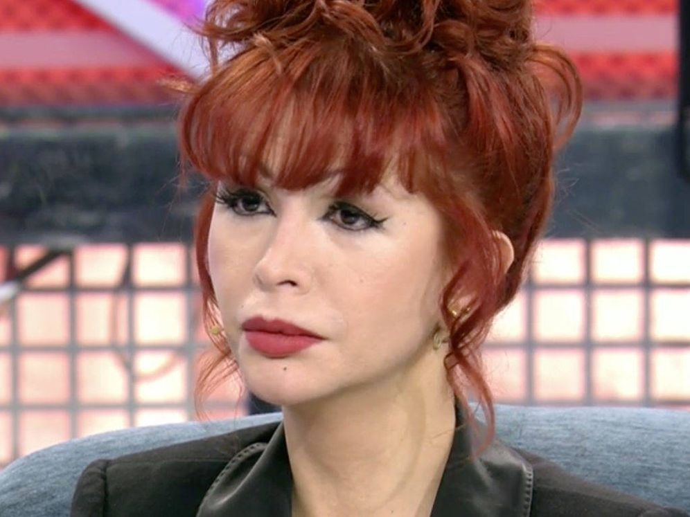 Foto: Yurena, en el plató de 'Sábado Deluxe'. (Telecinco).