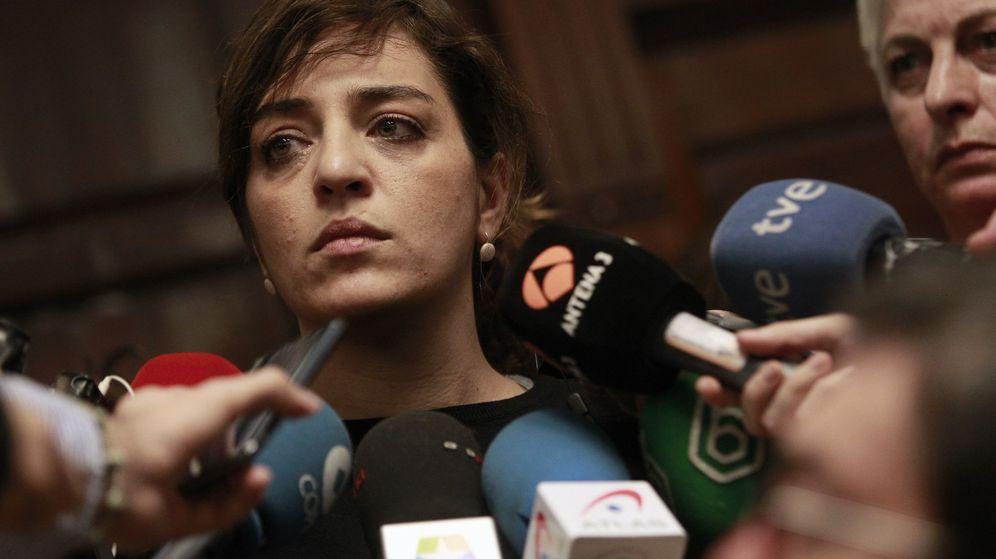 Foto: La delegada de Cultura y Deportes del Ayuntamiento de Madrid, Celia Mayer, atiende a los medios de comunicación este sábado. (Efe)