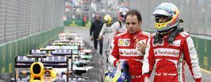 Foto: Ferrari recuerda a Felipe Massa quién es Don Quijote y quién es Sancho Panza en el equipo