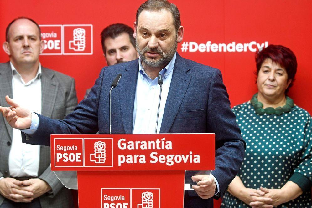 Foto: El ministro de Transportes, José Luis Ábalos, el pasado 10 de enero en Segovia. (EFE)