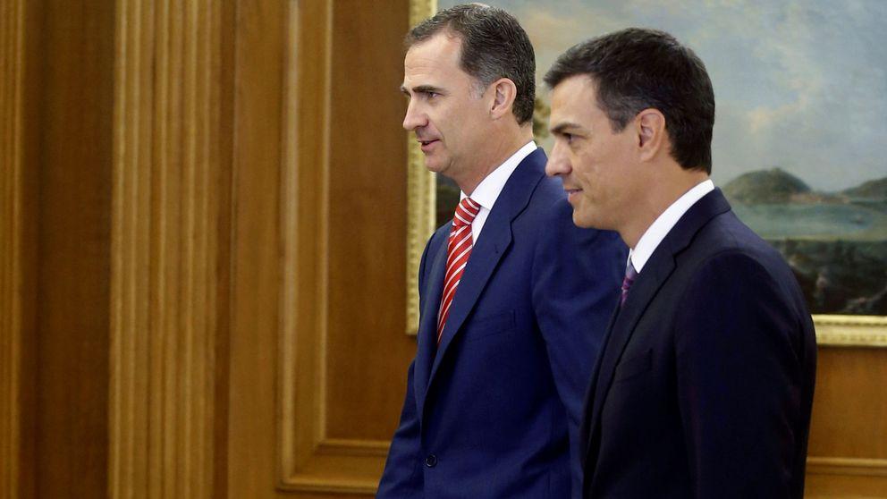 Sánchez exige a Rajoy ir a la investidura y no descarta intentar él una alternativa