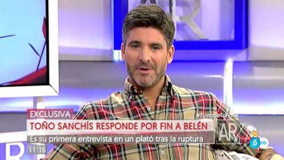 Foto: Toño Sanchís en 'El programa de AR'