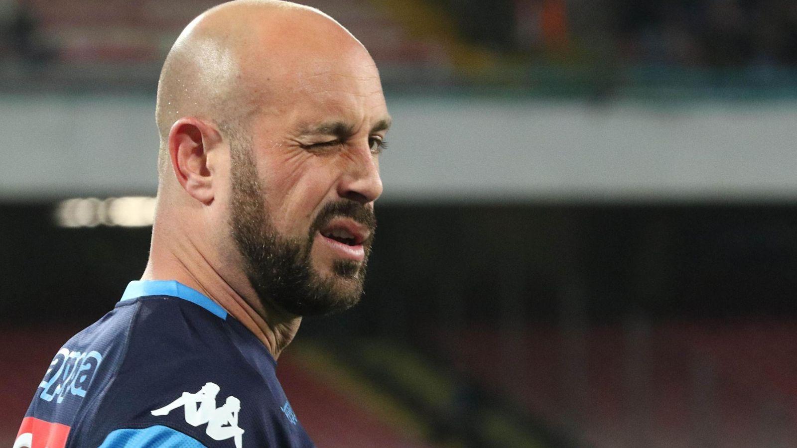 Foto: Pepe Reina, durante un partido con el Nápoles. (EFE)