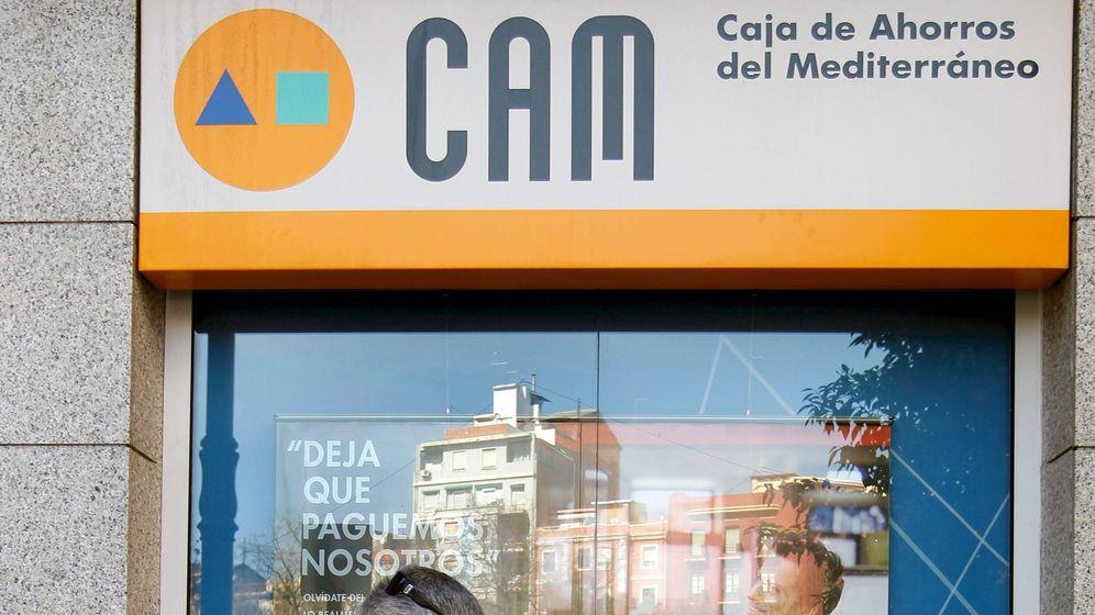 Foto: Sucursal de la CAM. (EFE)